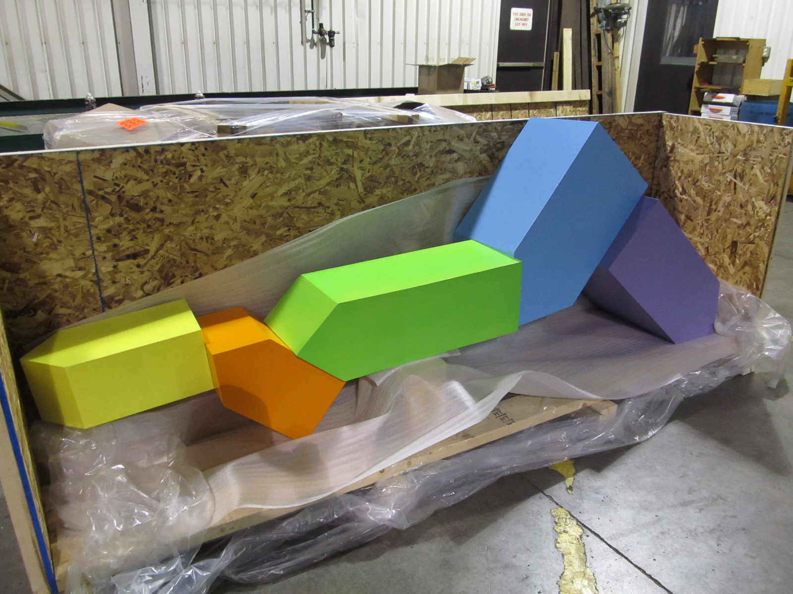 Multi Painted Structure