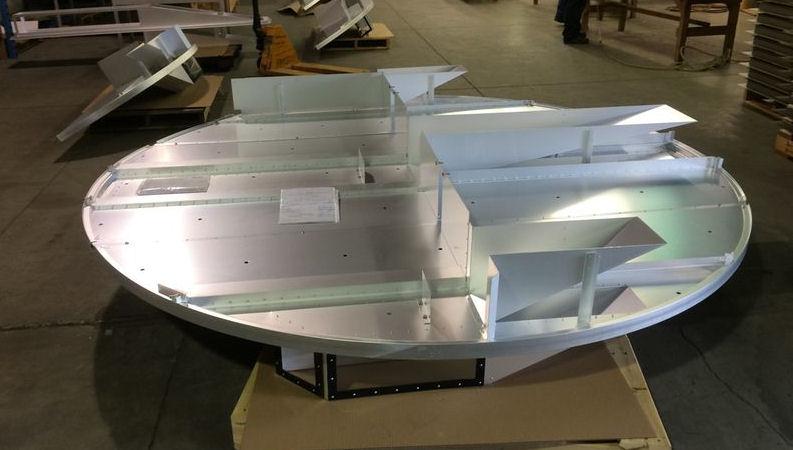 Riveted Aluminum Tray