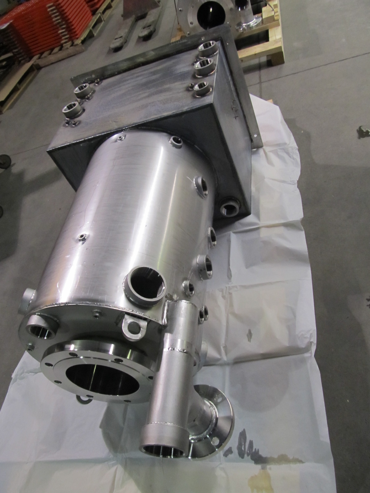 Welded Cylinder Assembly