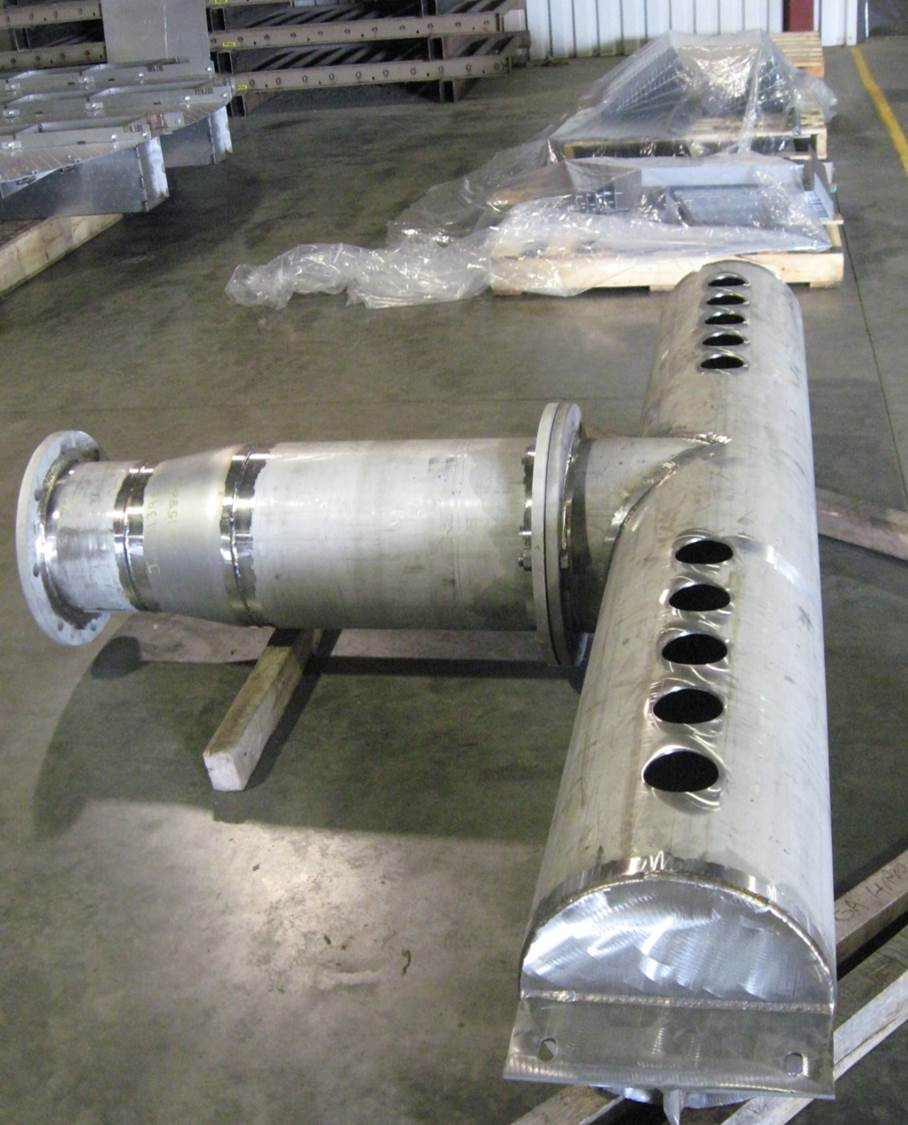 Welded Stainless Steel Pipe Assembly