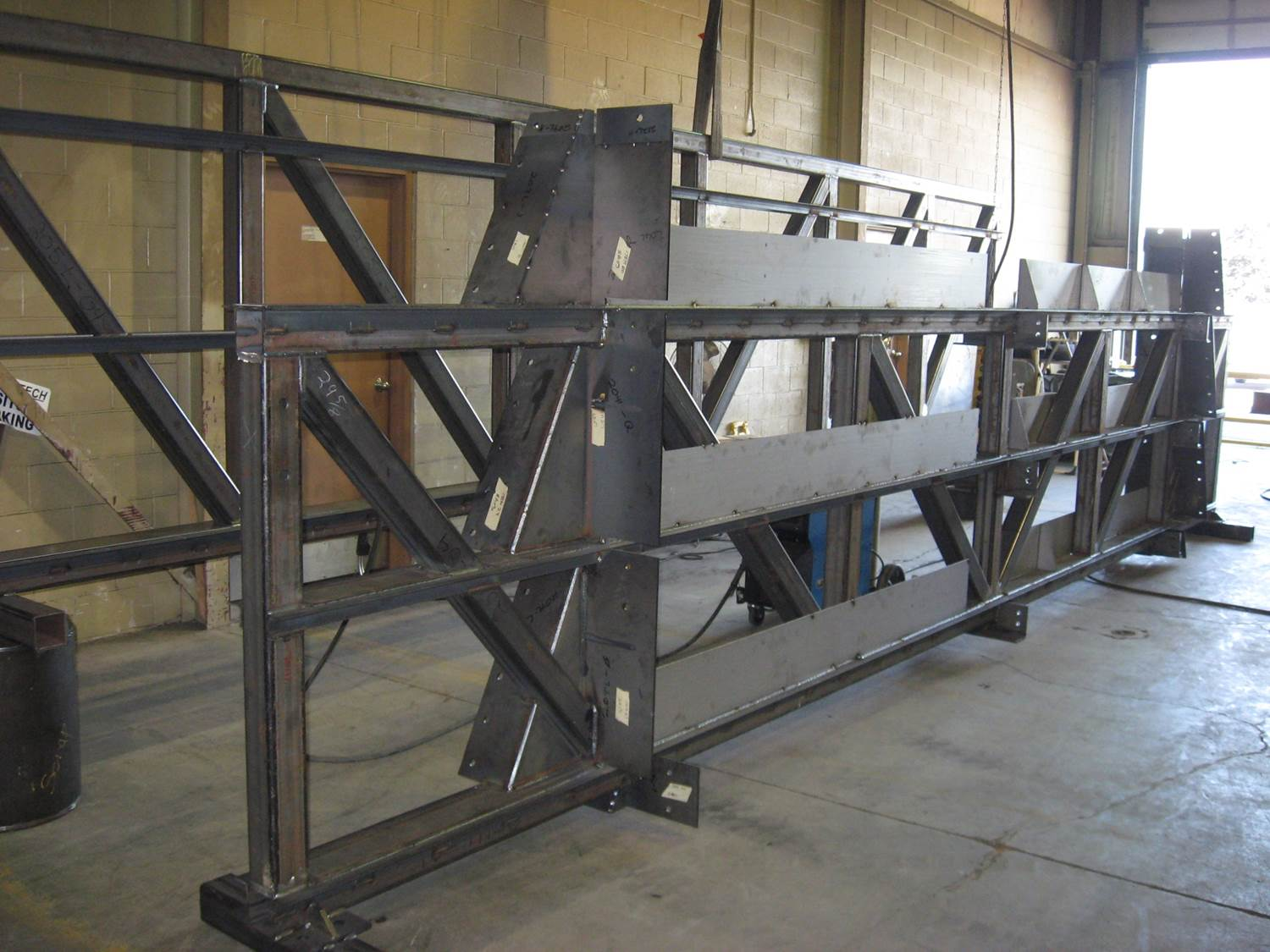 Welded Structural Steel Assembly